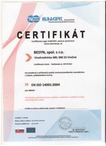 certifikát 2012 002